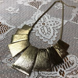 """Jewelry - """"Gold"""" Statement Necklace"""
